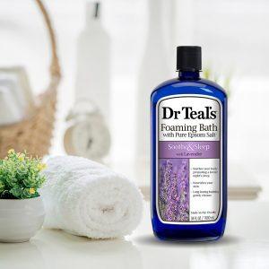 Sữa tắm Dr Teal's Pure Epsom Salt Soothe & Sleep Lavender Body Wash – 710ml